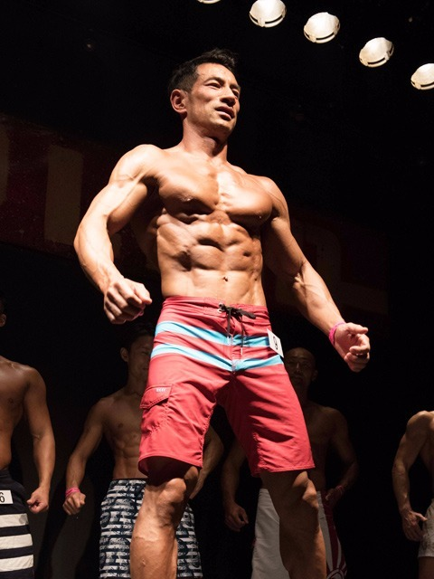 Men's Physique -176&Men's Physique Over All 優勝 TSフィットネス 選手