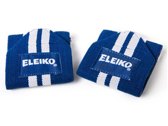 Wrist Wraps - Cotton, Navy(ELEIKOリストラップ、ネイビー)