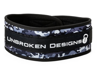 【Unbroken Designs】Grey Camo ベルクロベルト
