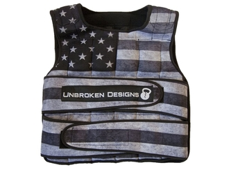 【Unbroken Designs】STARS AND STRIPES 18kgウェイトベスト