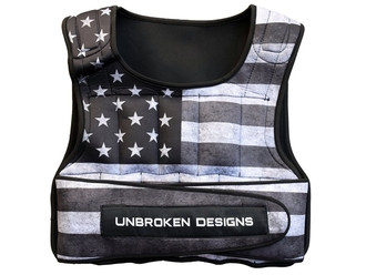 【Unbroken Designs】STARS AND STRIPES 9kgウェイトベスト